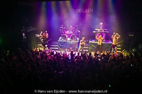 Концерт Delain