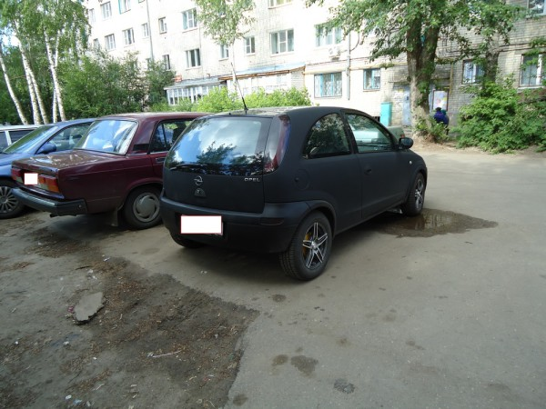 Матовый Opel