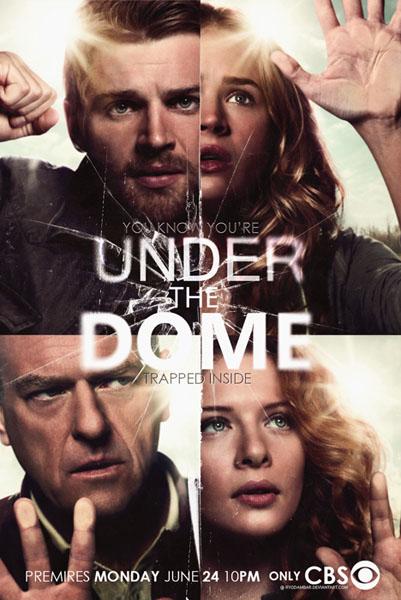 Под куполом, постер